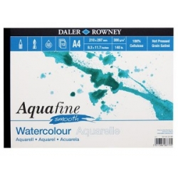Blok Daler Rowney Aquafine Smooth 300 g/m² 12 ark.