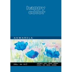 Blok do akwareli 250g Happy Color